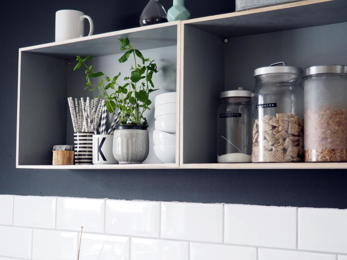 Kjøkkenet før/etter