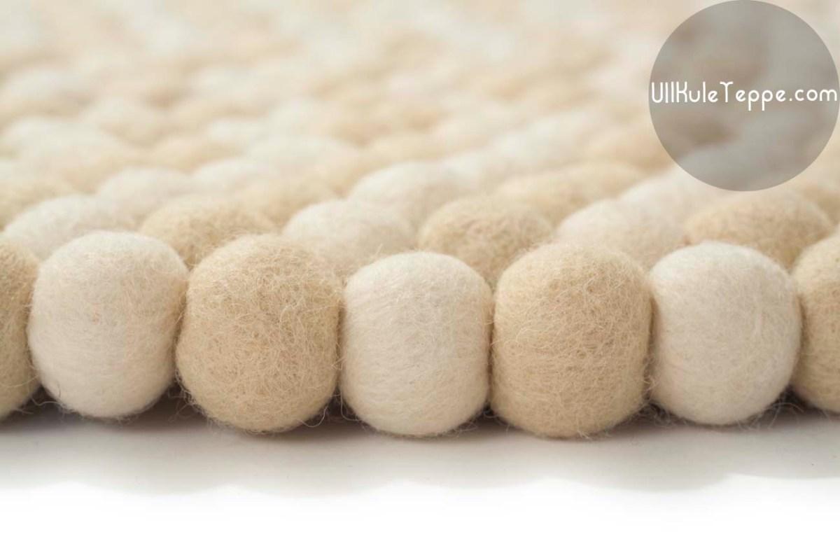 Håndlaget teppe i ull